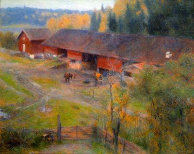 Erik Werenskiold Autumn