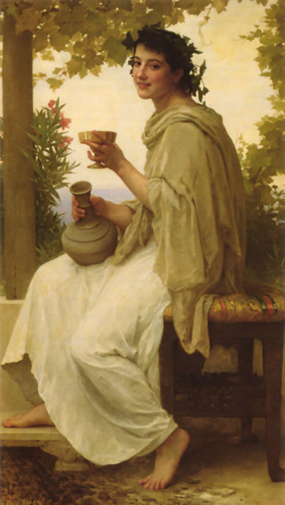 William-Adolphe Bouguereau Bacchante