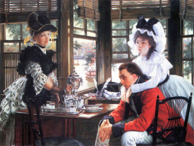 James Tissot Bad news (The separation)