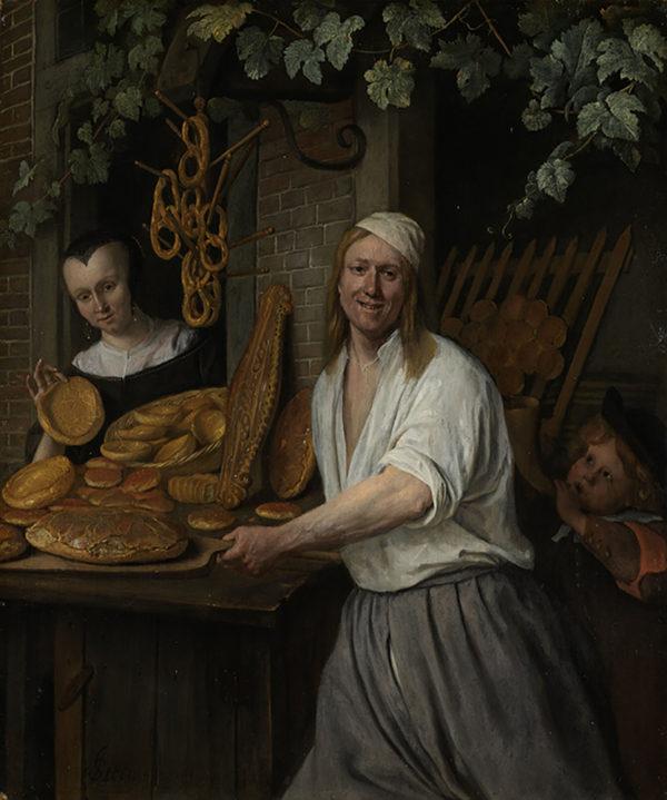 Jan Havicksz. Steen The Baker Arent Oostwaard and his Wife