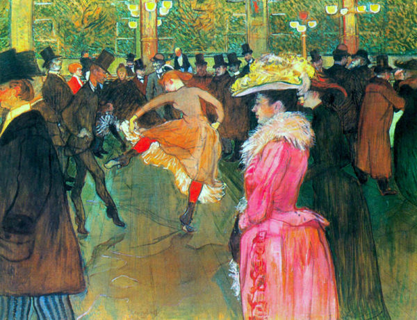 Henri de Toulouse-Lautrec Ball in the Moulin Rouge
