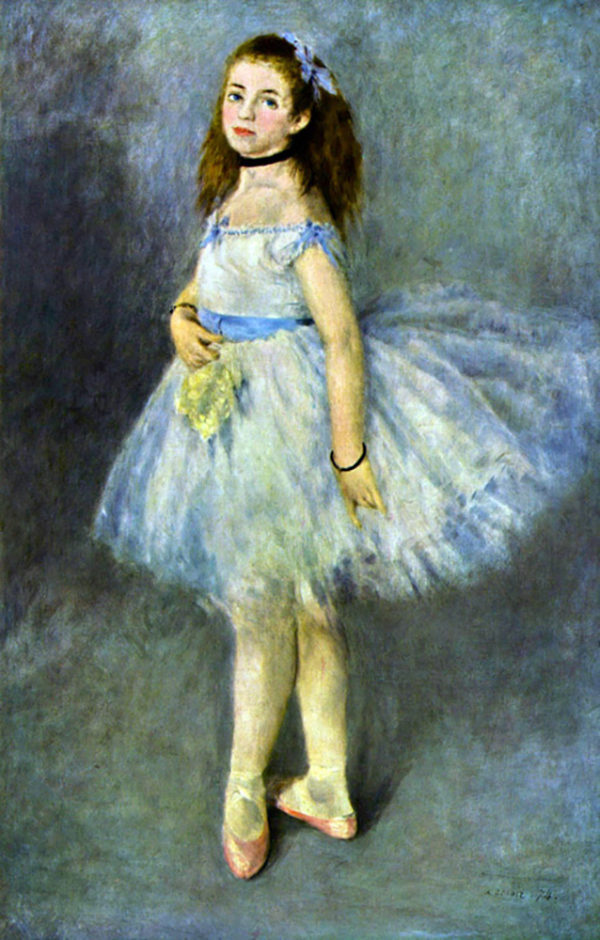 Pierre-Auguste Renoir Ballet Dancer