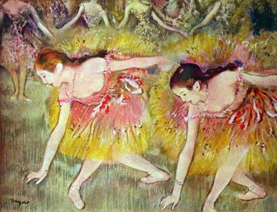 Edgar Degas Ballet dancers