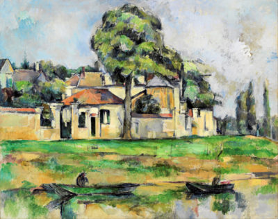Paul Cézanne Banks of the Marne