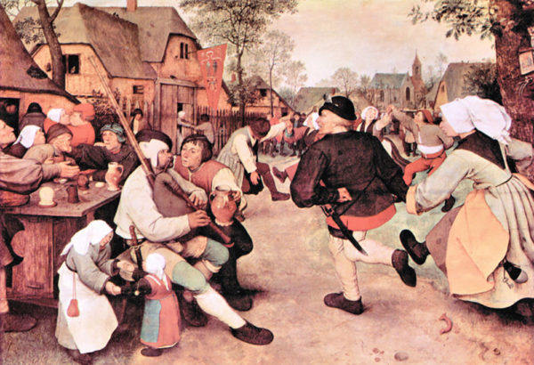 Pieter Bruegel Barn Dance