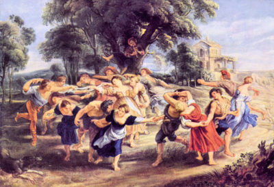 Peter Paul Rubens Barn dance
