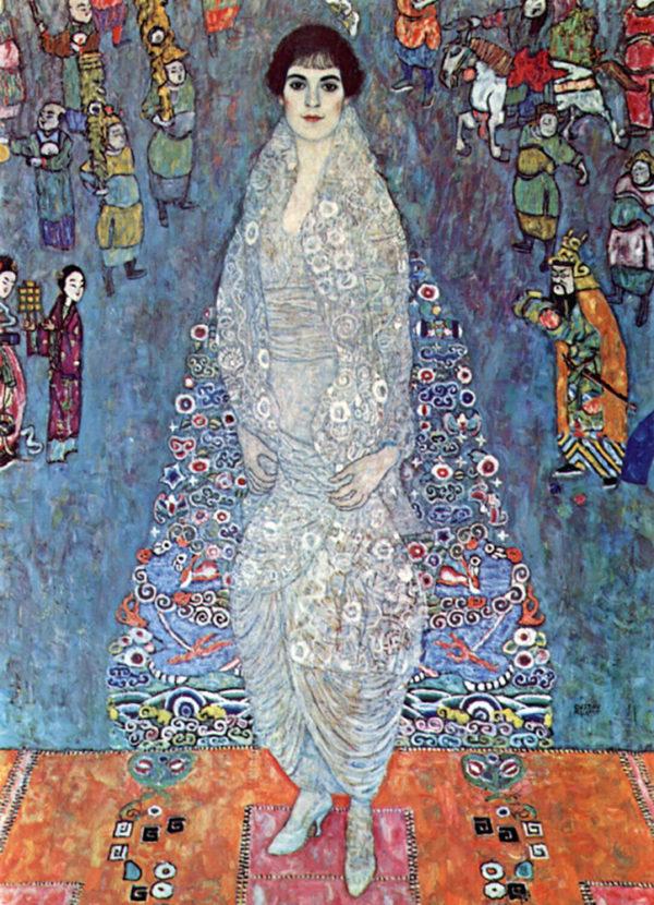 Gustav Klimt Baroness Elizabeth
