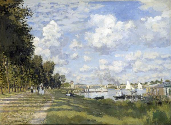 Claude Monet Bassin d'Argenteuil