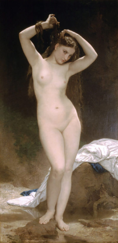 William-Adolphe Bouguereau Bather