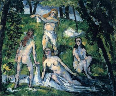 Paul Cézanne Bathers