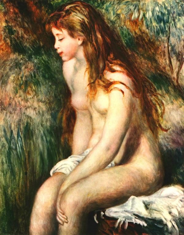 Pierre-Auguste Renoir Bathing