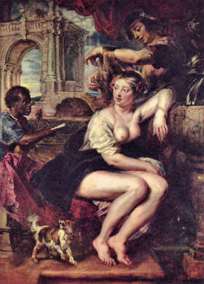 Peter Paul Rubens Bathsheba at the Fountain