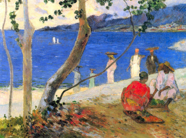 Paul Gauguin Beach Scene