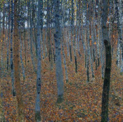 Gustav Klimt Beech Forest I