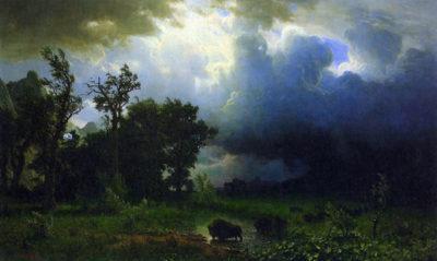 Albert Bierstadt Before the Storm