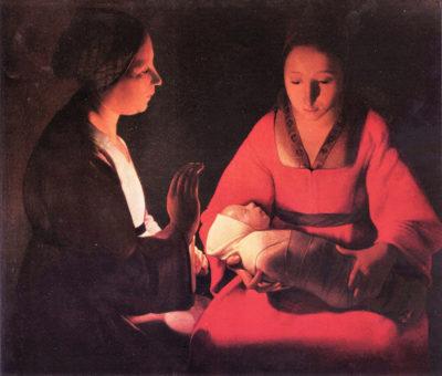 Georges de La Tour Birth of Christ