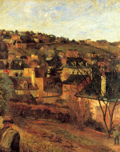 Paul Gauguin Blue Roofs Of Rouen