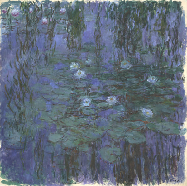 Claude Monet Blue Water Lilies