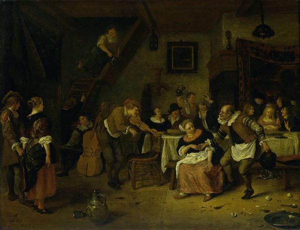 Jan Havicksz. Steen Peasant wedding