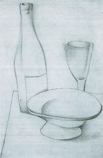 Juan Gris Bottle