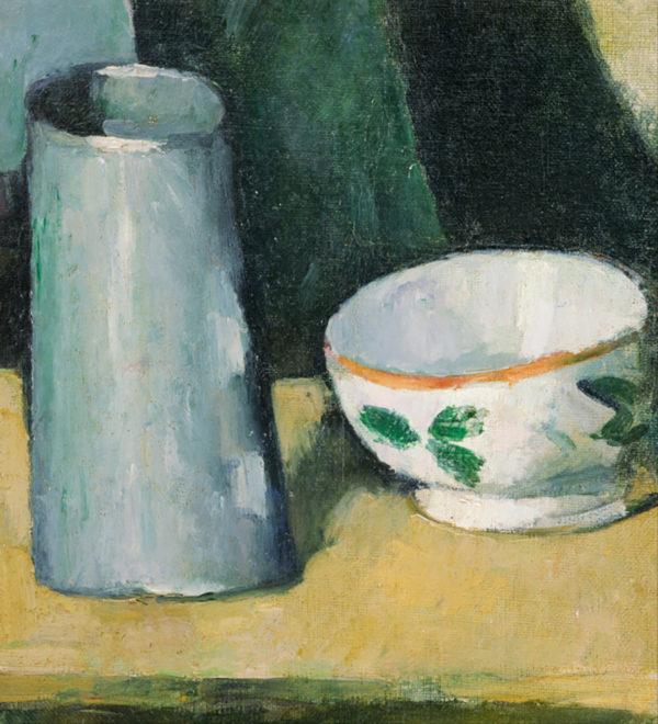Paul Cézanne Bowl and Milk Jug