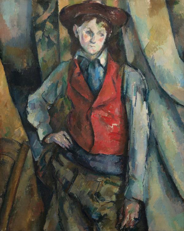 Paul Cézanne Boy in Red Waistcoat