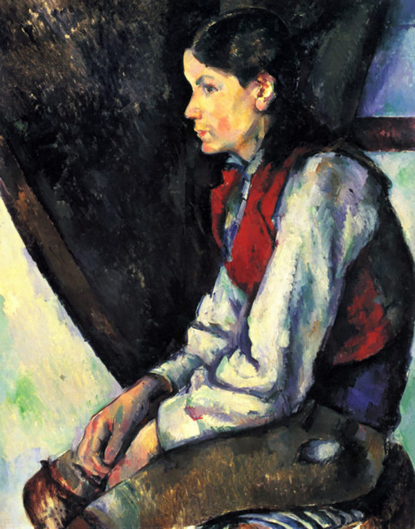 Paul Cézanne Boy with Red Vest