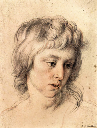 Peter Paul Rubens Boys portrait