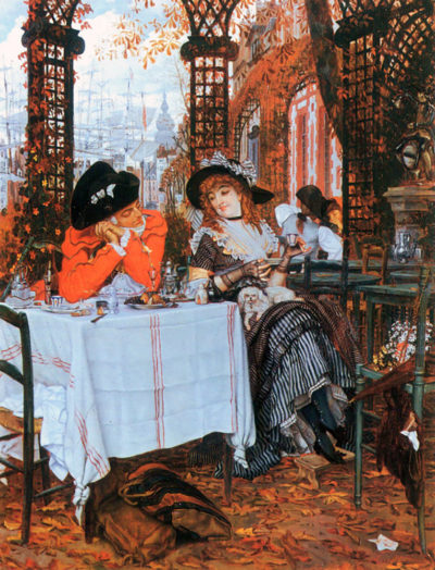 James Tissot Breakfast