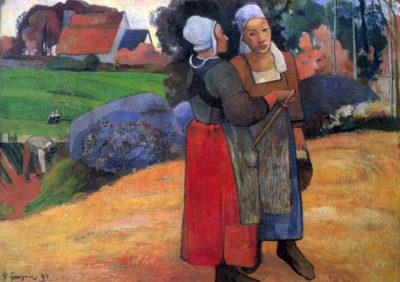 Paul Gauguin Breton Famers