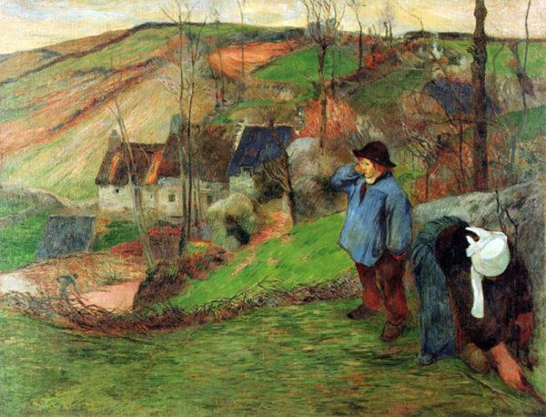 Paul Gauguin Breton Shepherd