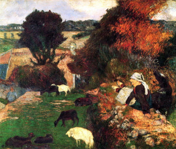 Paul Gauguin Breton Shepherds