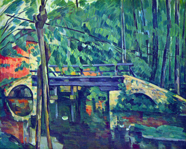 Paul Cézanne Bridge in the forest