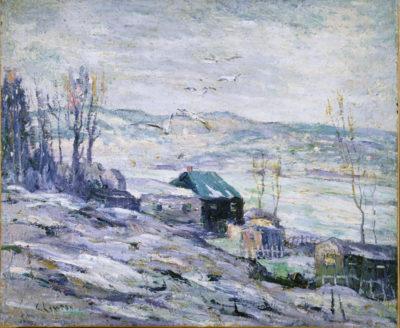 Ernest Lawson Bronx River
