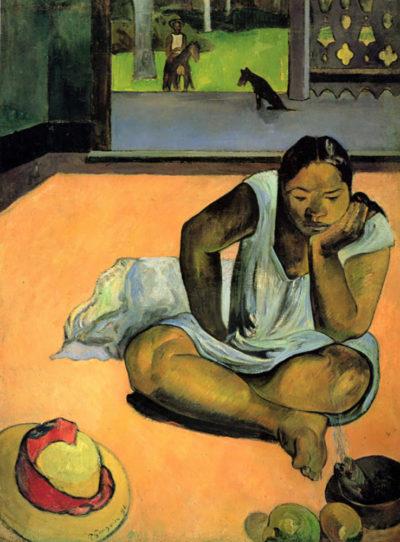 Paul Gauguin Brooding Woman