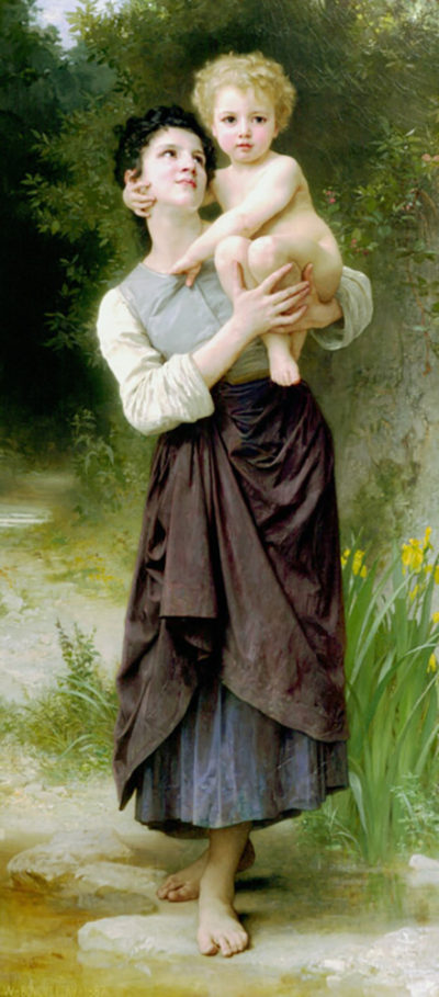 William-Adolphe Bouguereau Brother And Sister