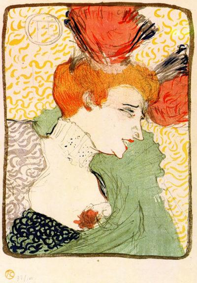 Henri de Toulouse-Lautrec Bust portrait