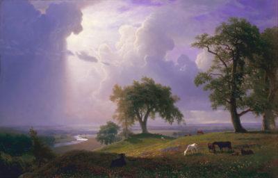 Albert Bierstadt California Spring