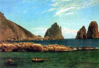 Albert Bierstadt Capri