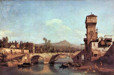 Canaletto Capriccio Veneto