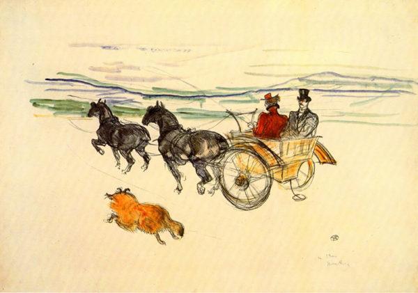 Henri de Toulouse-Lautrec Carriage