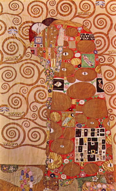Gustav Klimt Cartoon For The Frieze Of The Villa Stoclet In Brussels: Fulfillment
