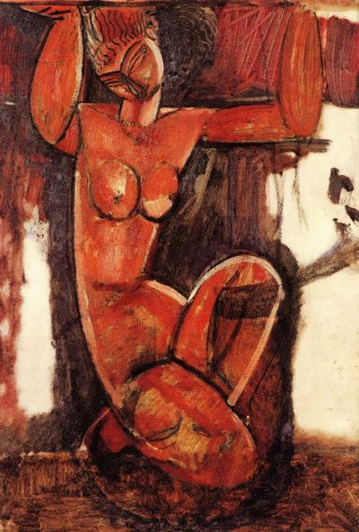 Amedeo Clemente Modigliani Caryatid