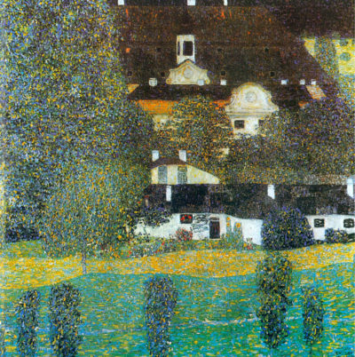 Gustav Klimt Castle Chamber at Attersee II