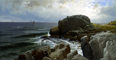 Alfred Thompson Bricher Castle Rock