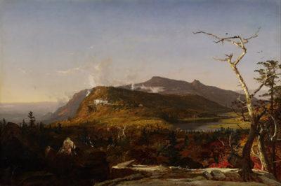Jasper Francis Cropsey Catskill Mountain House