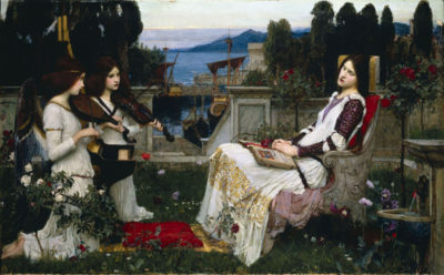 John William Waterhouse Cecilia