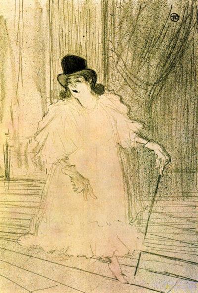 Henri de Toulouse-Lautrec Cecy Loftus