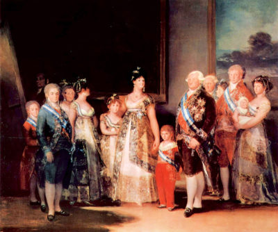 Francisco Goya Charles IV of Spain and His Family