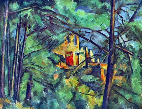 Paul Cézanne Chateau Noir